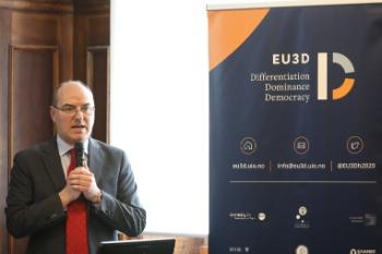Giovanni Orsina, Director, Luiss School of Government chairs the panel debate on the future of Europe.