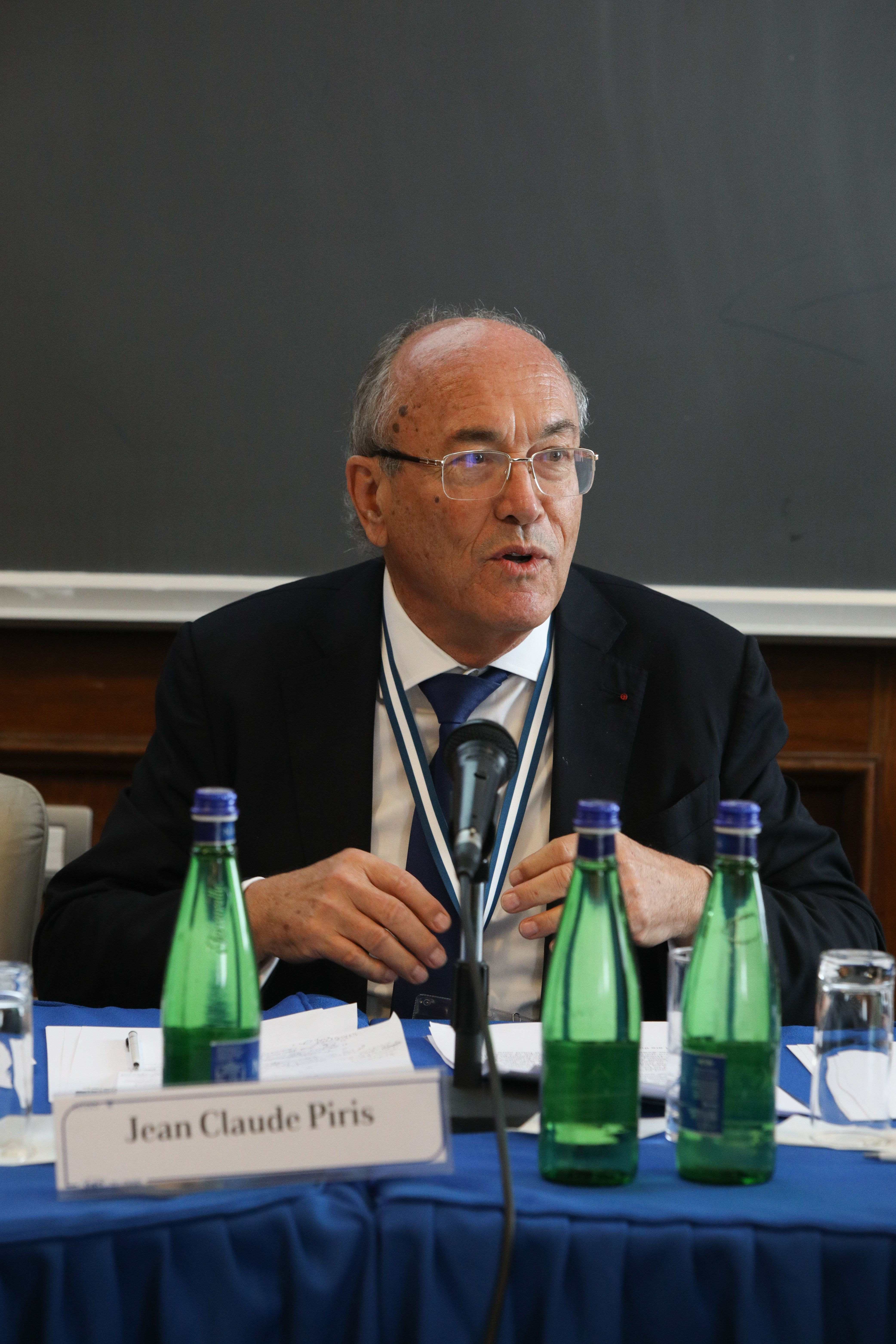 Jean-Claude Piris at the debate on the future of Europe